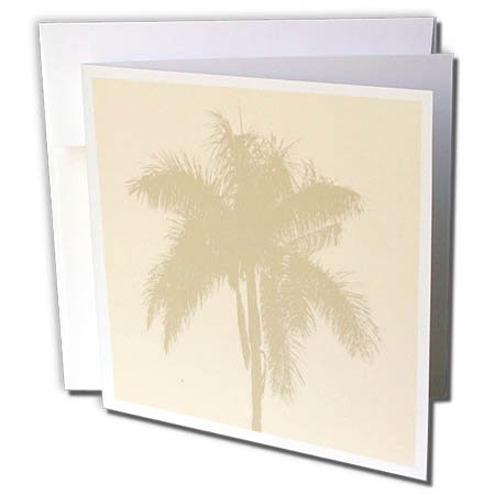 3dRose TDSwhite - Miscellaneous Photography - Tropical Palm Tree - 12 Greeting Cards with Envelopes (gc_285440_2)