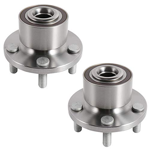 SCITOO Wheel Hub Bearing for Land Rover LR2 2008-2015 Compatible for OE 513337 Front 5 Bolts W/O ABS(1 pad)