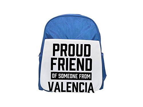 Fotomax Mochila Azul con Estampado de Valencia para niños, Mochilas Bonitas, Mochilas pequeñas, Mochila Negra, Mochila Negra, Mochilas de Moda, ...