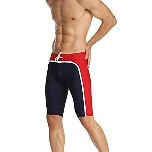 Baleaf Men's Splice Jammer Fashion Swimsuit