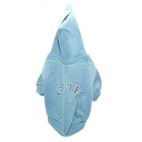 Vital Pet Products Collegiate Dog Sweatshirt (16in) (Baby Blue) ()