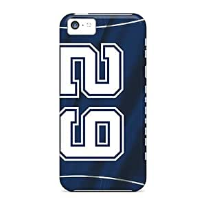 Premium GUx116PTiS Case With Scratch-resistant/ Dallas Cowboys Case Cover For Iphone 5c