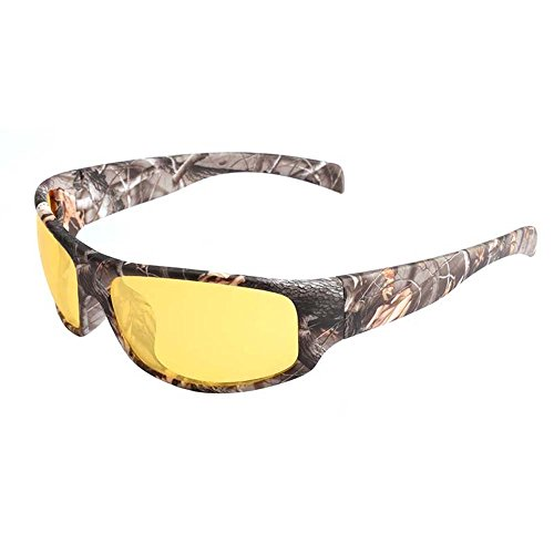 Night Vision Driving Sunglasses With Camourflage Print TR90 Frame For Men Driving Hiking Camping - Frames Country Glasses Road
