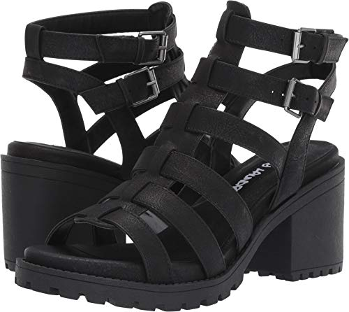 Dirty Laundry Womens Fun Stuff Sandals, Black, 8