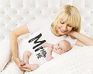 Tstars Mom and Daughter Matching T-Shirt & Bodysuit Funny Me & Mini Me Matching Set
