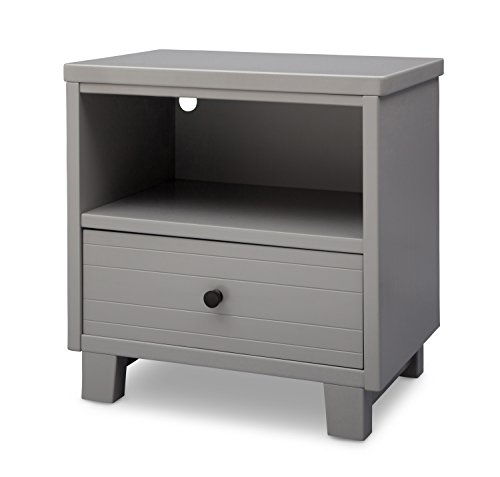 Simmons Kids Rowen Nightstand, Grey by Simmons Kids