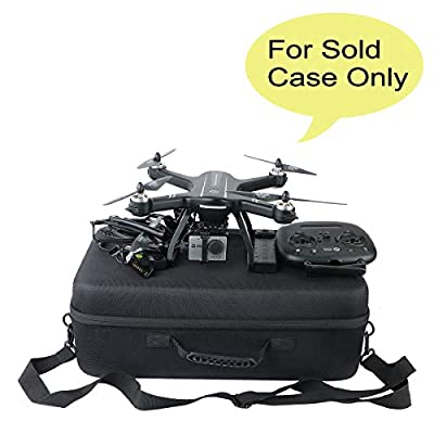 co2crea Hard Travel Case for Holy Stone HS700 FPV Drone 1080p HD Camera Live Video GPS Return Home RC Quadcopter