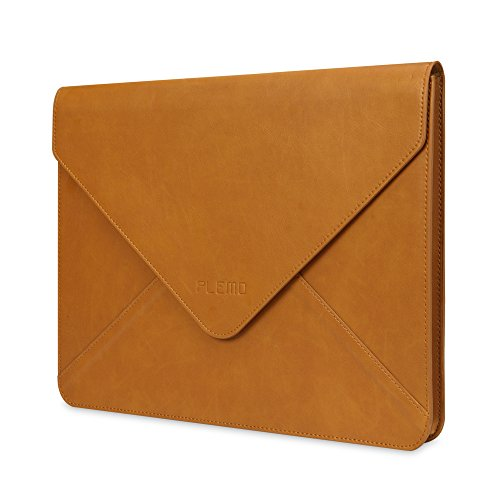 Plemo Water-Resistant PU Leather Sleeve for iPad Pro, MacBook Air and Pro, Notebook,13-13.3 (Best Plemo Notebook Computers)