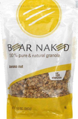 Bear Naked 100% Natural Granola Go Bananas Go Nuts 12 oz