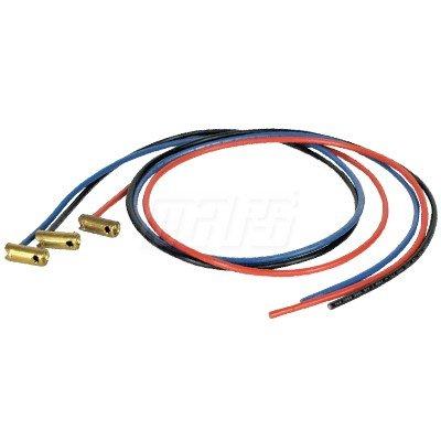 Brass Stake - Term-Lok Compressor Brass Stake on 10 Gauge, 3 Wire