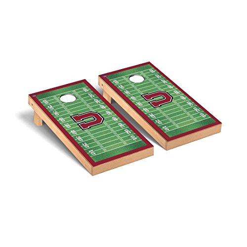 Victory Tailgate Union College Dutch Regulation Cornhole Game Set Football Field Version