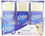 10 Wholesale Lots 3 Pack Q-Tips Cotton Swabs 1875 Count, Total 18,750 Cotton Swabs
