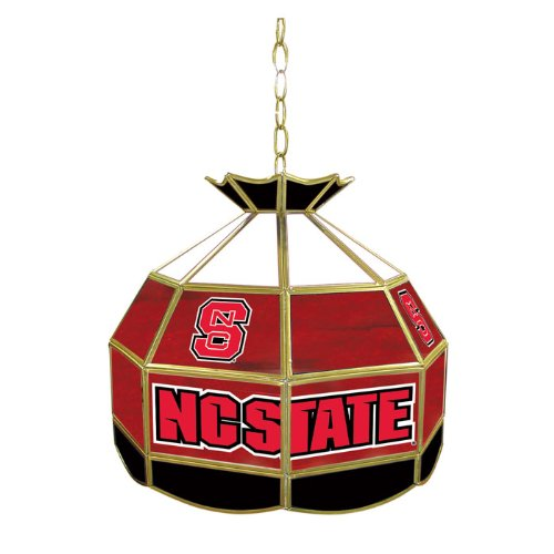 NCAA North Carolina State University Tiffany Gameroom Lamp, 16