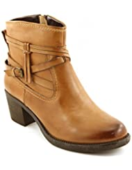 Comfortiya Women's Mariana Fashionable Casual Ankle Leather Boot