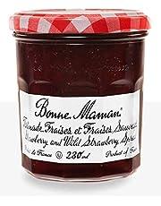 Bonne Maman Strawberry and Wild Strawberry Spread (6x250ml) Tartinade Fraises et Fraises des Bois Bonne Maman