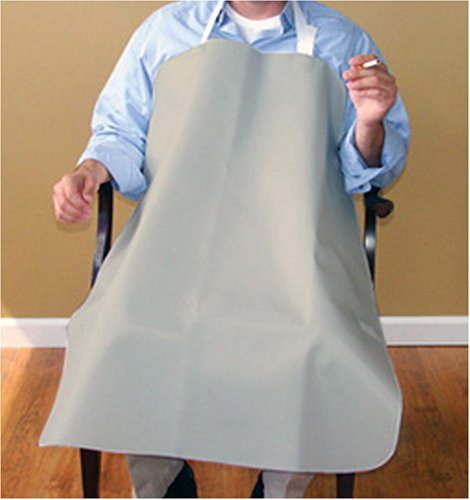 Deluxe Smokers Apron in Grey ()