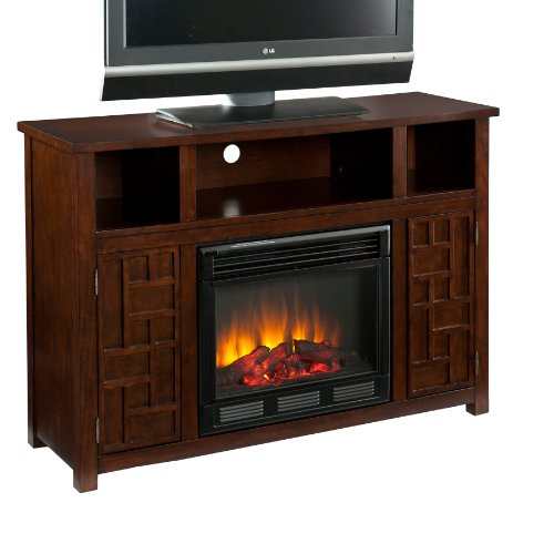 SEI AMZ9739E Hensley Electric Media Fireplace, Espresso