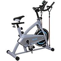 Aerofit Spin Bike with 11 Steps Vertical Adjustments (HF972)