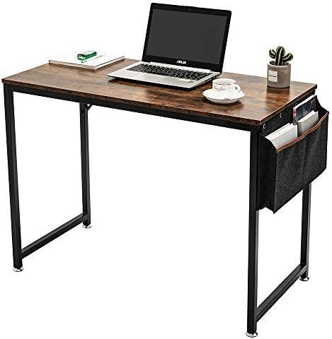 ARCCI Home Office Desk Computer Desk w/Storage Bag and Hook