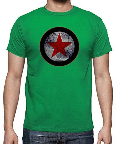 Prato T 2 Verde Stella Tostadora Rossa shirt Uomo xw47nq7F81