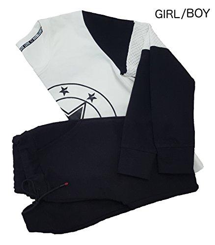 HTG Excellent - Survêtement - Femme nero, bianco