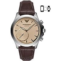Emporio Armani Mens ART3014 Analog Display Quartz Brown Smart Watch