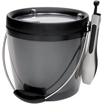 Amazon Com Oxo Good Grips Plastic Ice Bucket With Ice