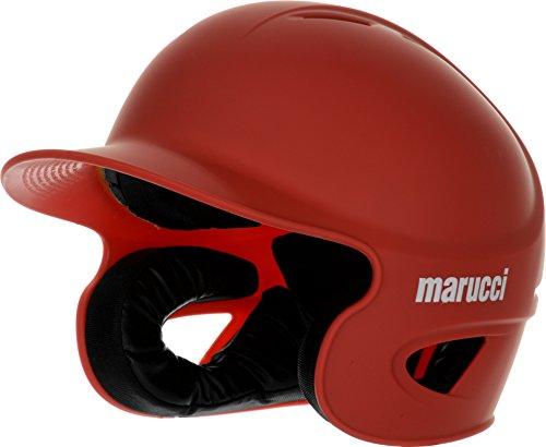 Marucci Adult Team Speed Batting Helmet, Red, (Team Batting)