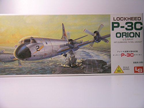 - LS Models---1/72 Scale Lockheed P-3C Orion---Plastic Model Kit