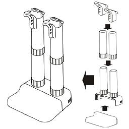 Jobsite Boot, Shoe & Glove Electric Dryer Prevent Odor, Mold & Bacteria