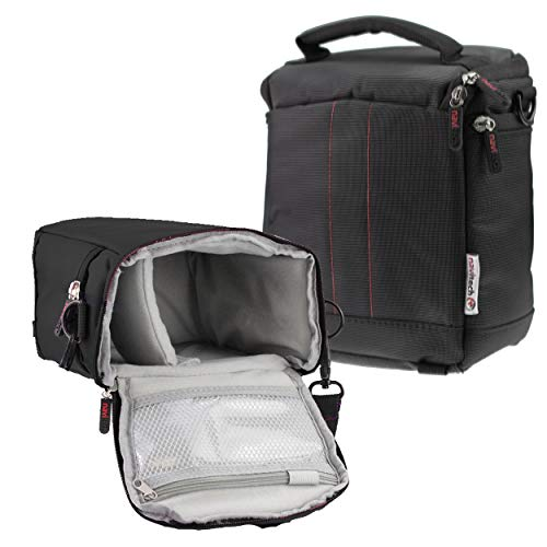 Navitech Black Protective Portable Handheld Binocular Case and Travel Bag for The Leica Noctivid 10 x 50 HD-Plus by Navitech (Image #4)
