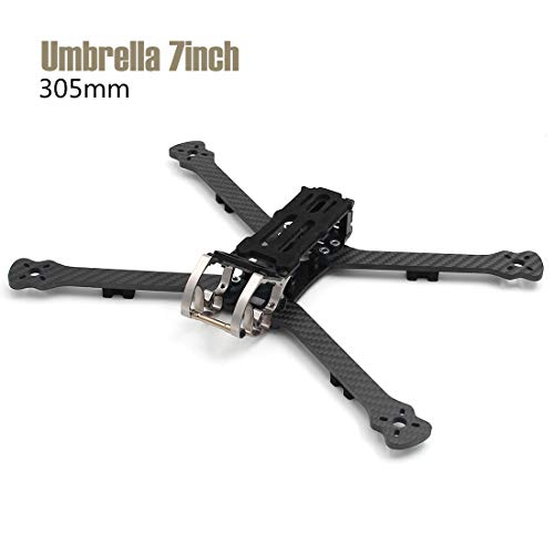 LEACO Umbrella 7 inch 305mm 135 Grams Aluminum Hardware cage Quadcopter Frame Rooster