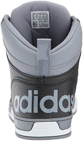 adidas NEO Herren Raleigh 9tis Mid Basketballschuh Grau / Schwarz / Weiß