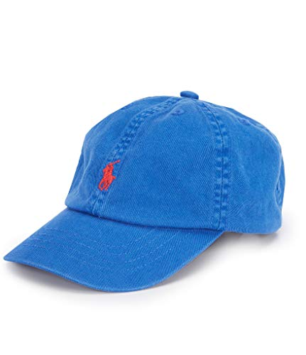 Polo Ralph Lauren Boy`s Big Pony Hat (New Iris, (Ralph Lauren Designer Hat)