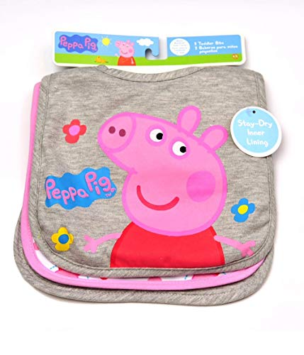 - Peppa Pig Infant 3-Pack Bibs