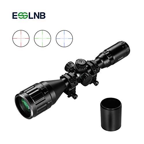 ESSLNB Airsoft Rifle Scope 3-9X50mm Optical Lens Red Green Blue 3...