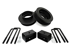 """MotoFab Lifts 992WDCH-3F-2R 3"""" Front and 2"""" Rear Leveling lift kit for 1999-2006 Chevy Silverado Sierra GMC 2WD"""