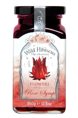 WILD HIBISCUS FLOWER COMPANY Syrup, Rose, 12.3 fluid ounce (Rose Essence)