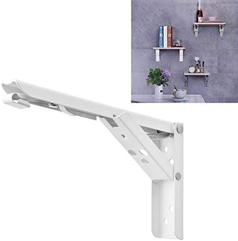 ホームデコレーション 12インチダイニングテーブル用の折り畳み式の春のストレージシェルフのウォールマウント 家具の足