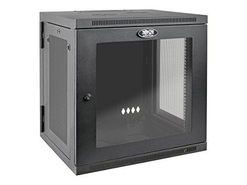 (Tripp Lite 12U Wall Mount Rack Enclosure Server Cabinet with Acrylic Glass Door, Hinged Back, 24.5 in. Deep, UPS-Depth (SRW12USDPG))