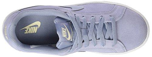 Nike Damen Court Royale Suede Gymnastikschuhe Grau (Glacier Grey/glacier Grey/muslin)