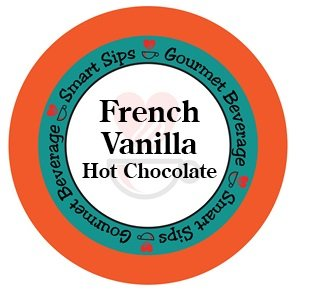 French Vanilla Hot Chocolate, 24 Count, Compatible With All Keurig K-cup Brewers French Vanilla Hot Chocolate