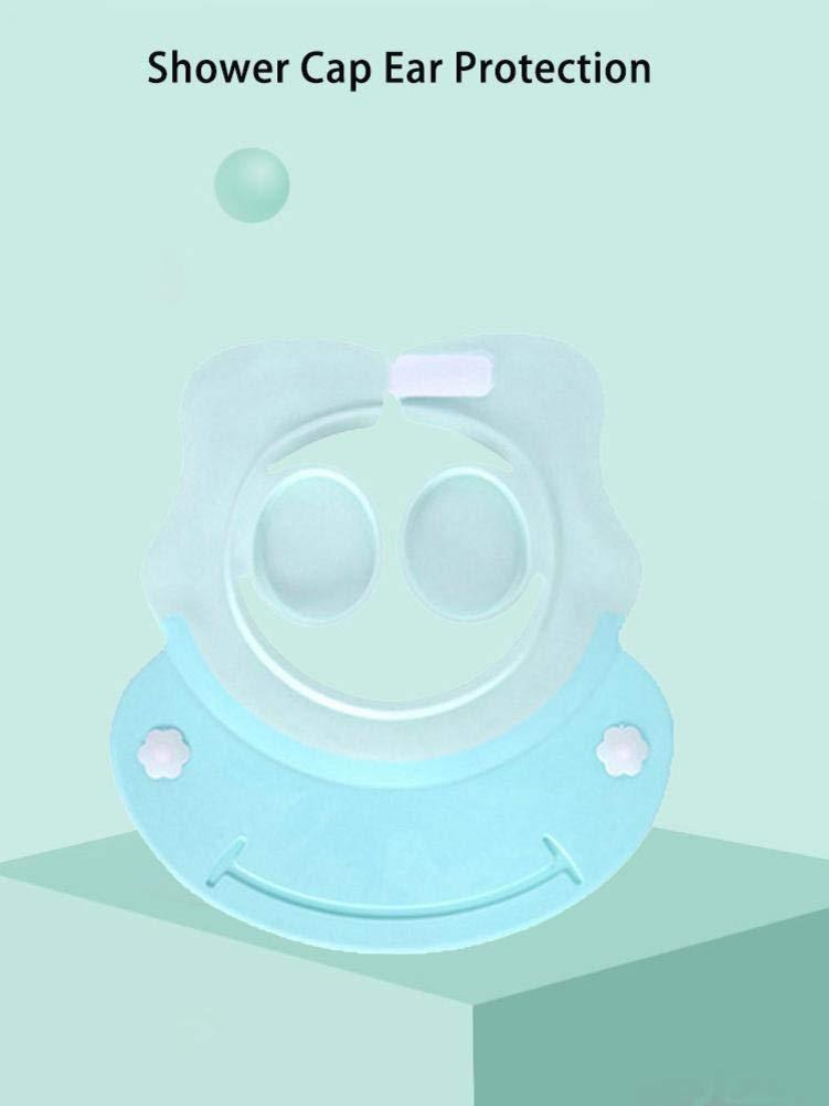 Shampoo Dusche Badeschutz Bad Soft Cap Verstellbarer Visier Hut Baby Shampoo Dusche Badeschutz Bad Soft Cap Verstellbarer Visier Hut Baby Kinder F/ür Kleinkind Kinder