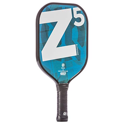 Onix Z5 Graphite Pickleball Paddle and Paddle Cover (Mod Blue) | Gift Pack by Onix (Image #1)