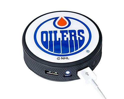 Nhl Edmonton Oilers Iphone - NHL Edmonton Oilers Remote Phone Charger, Black