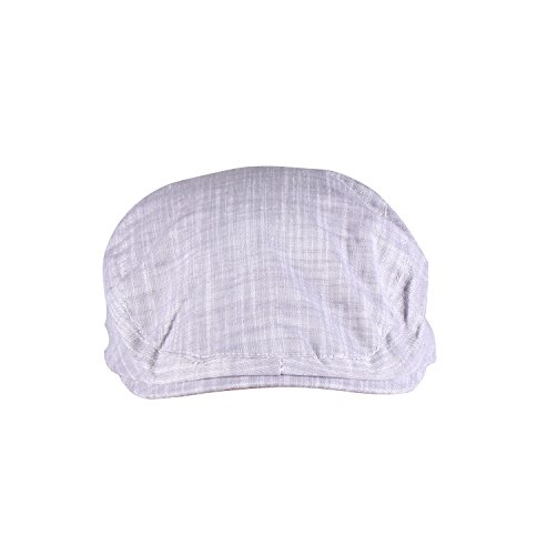 ORSKY Light Gray Newsboy Hat Adult Flat Cap Cotton Classic Cabby Cap Light Gray (Great Gatsby Costumes For Men)