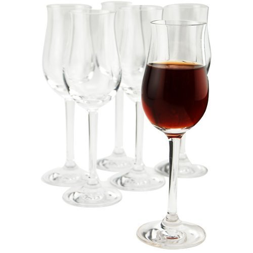 - Stolzle - Professional Collection Clear Lead-Free Crystal Port Wine Glass, 3.5 oz. Set of 6