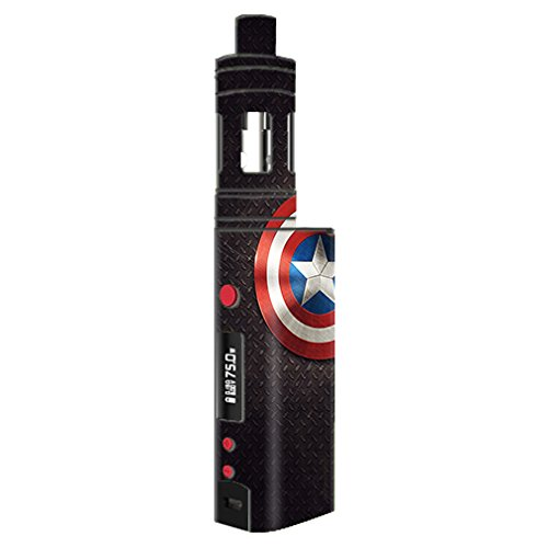 Skin Decal Vinyl Wrap for KangerTech TopBox Mini Vape Mod Box / Capt. Amer.