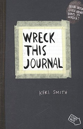 Wreck This Journal: To Create is to Destroy, Now With Even M...