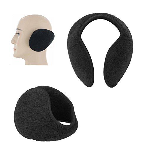 Ear Muffs Winter Ear Warmers Fleece Earwarmer Mens Womens Behind Head by yunita_1106stores